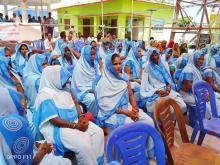 नगर खुल्ला दिशा मुक्त घोषणा कार्यक्रम- स्वास्थ्य स्वेम सेविकाहरु